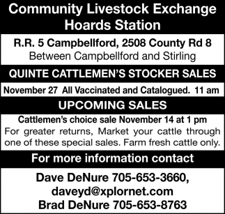 Community Livestock Exchange