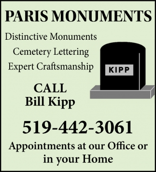 Distinctive Monuments