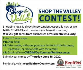 Shop the Valley Contest!