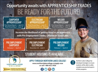 Opportunity Awaits with Apprenticeship Trades