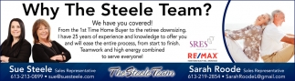 Why The Steele Team?