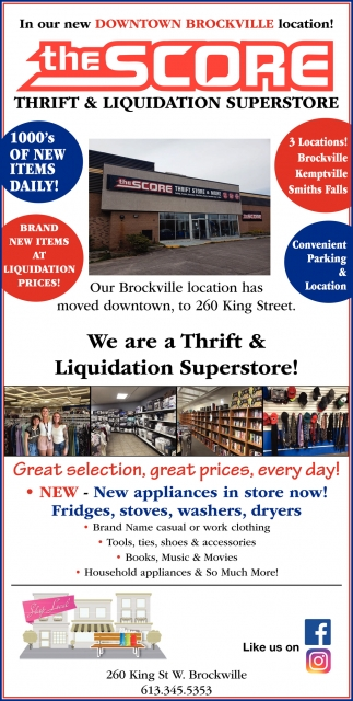 Thrift & Liquidation Superstore