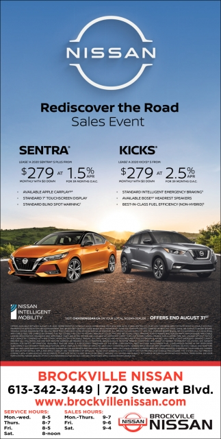 Rediscover the Road Sales Event