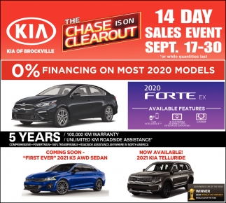14 Day Sales Event
