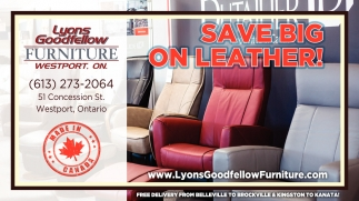 Save Big On Leather!