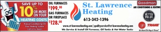 We Service & Install Oil Furnaces, Oil Tanks & Hot Water Tanks