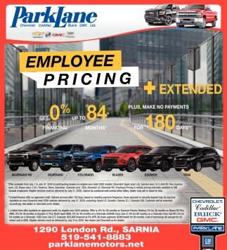 Employee Pricing + Extended