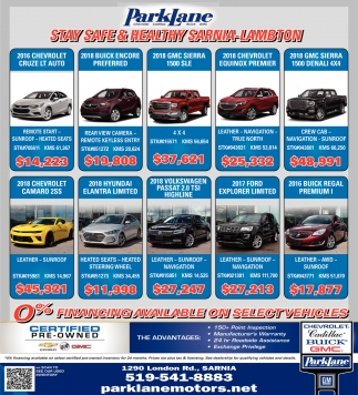 0% Financing Available On Select Vehicles