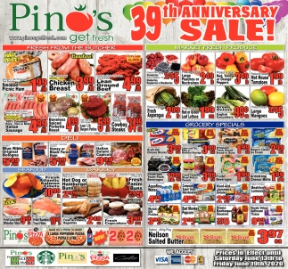 39th Anniversary Sale!