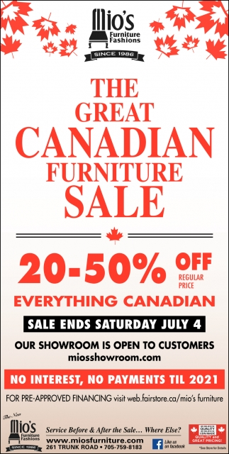 The Great Canadian Furniture Sale