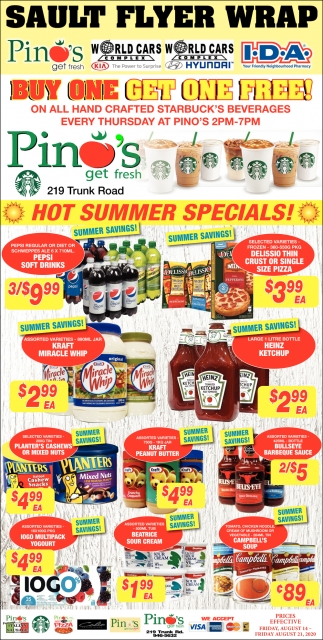 Hot Summer Deals!