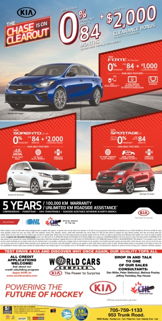 Test Drive a Kia and Discover why Once Again