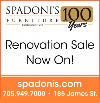 Renovation Sale Now On!