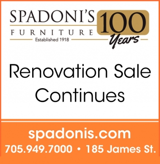 Renovation Sale Continues