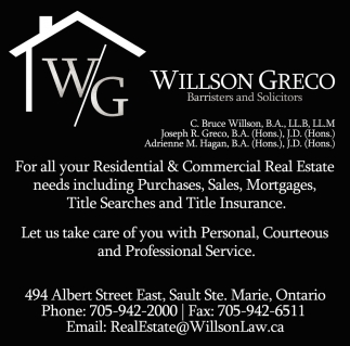For All Your Residential & Commercial Real Estate Needs