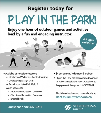 Play In The Park!