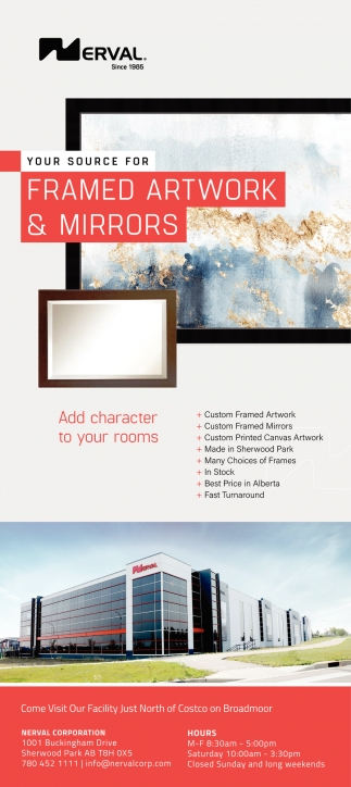 Your Source For Framed Artwork & Mirrors