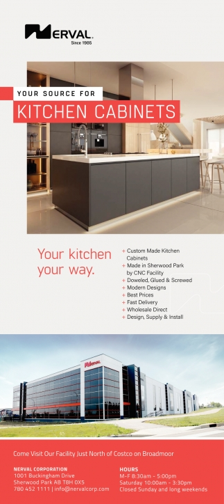 Your Source For Kitchen Cabinets
