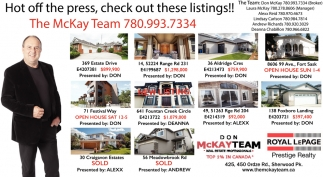 Hot Off The Press, Check Out These Listings!!