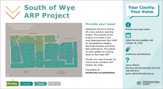 South Of Wye ARP Project