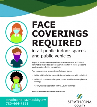 Face Coverings Required In All Public Indoor Spaces And Public Vehicles.