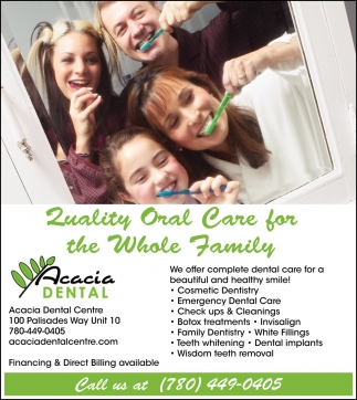 Quality Oral Care For The Whole Family