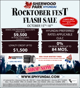 Rocktober Fest Flash Sale