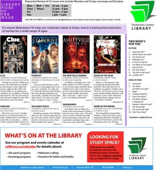 What's On At The Library