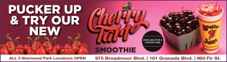 Pucker Up & Try Our New Cherry Tart Smoothie
