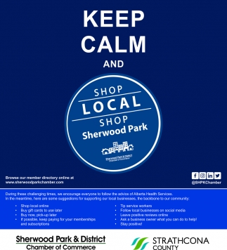 Keep Calm And Shop Local