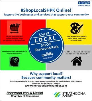 Shop Local Shop Sherwood Park