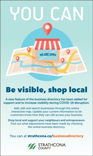 You Can Be Visible, Shop Local!