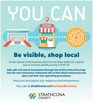 You Can be Visible, Shop Local