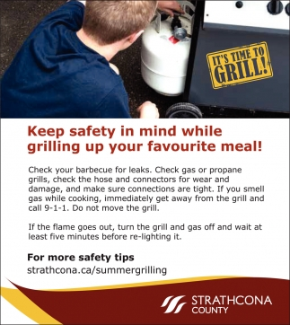 Keep Safety In Mind While Grilling Up Your Favourite Meal!