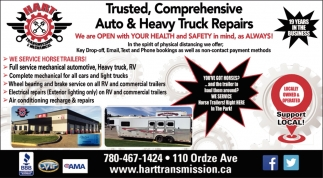 Trusted, Comprehensive Auto & Heavy Truck Repairs