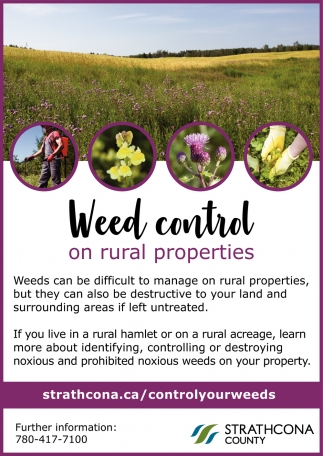 Weed Control On Rural Properties