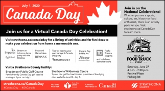 Join Us For A Virtual Canada Day Celebration!