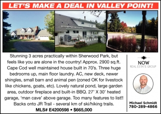 Let's Make A Deal In Valley Point!