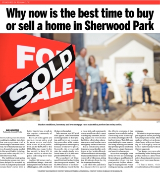 Why Now Is The Best Time To Buy Or Sell A Home In Sherwood Park