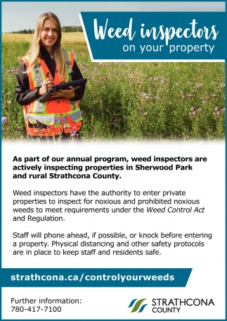 Weed inspections