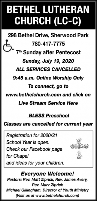 All Services Cancelled