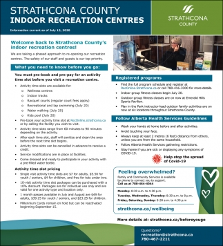 Indoor Recreation Centres