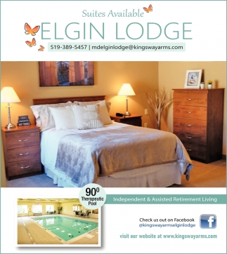 Suites Available Elgin Lodge