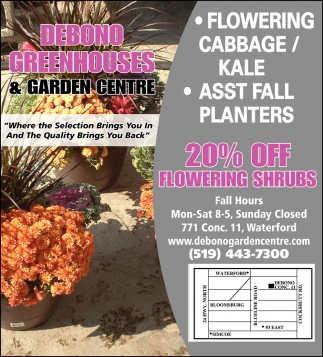 20% OFF Flowering Shrubs