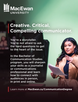 Creative. Critical. Compelling Communicator.