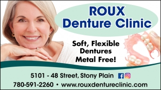 Soft, Flexible Dentures Metal Free!