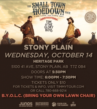 The Small Town Hoedown Tour