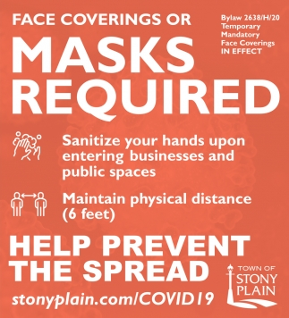 Face Coverings Or Masks Required