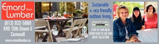 Sustainable + Eco Friendly Outdoor Living