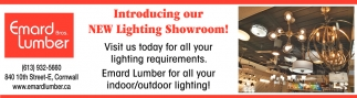 Introducing Our New Lighting Showroom!